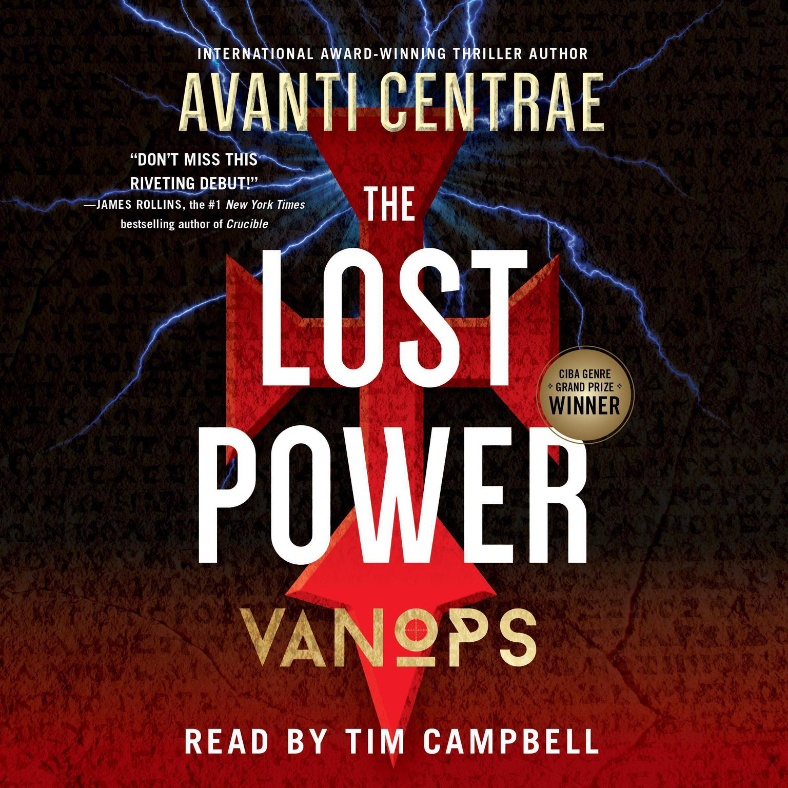 Printable VanOps: The Lost Power Audiobook Cover Art