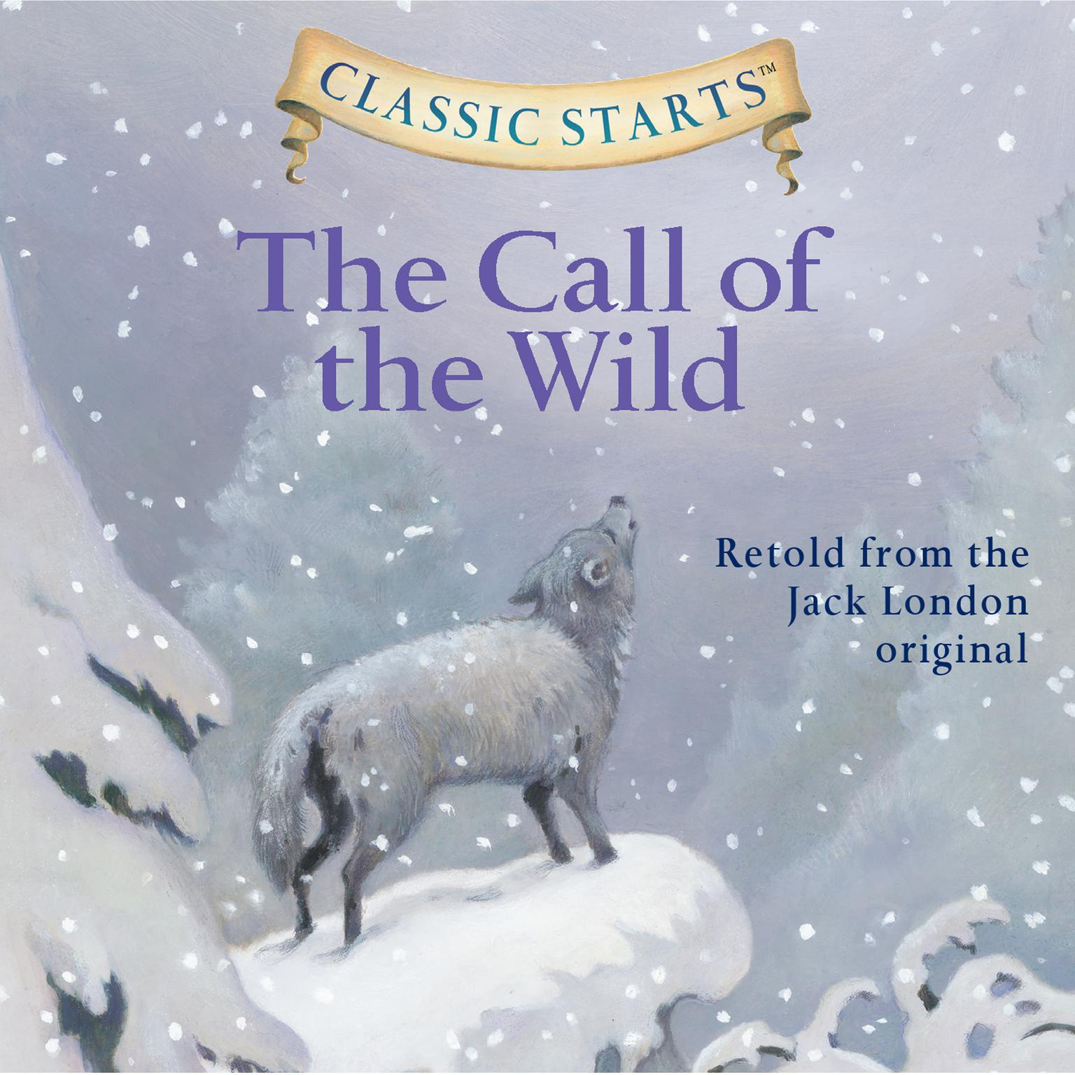Printable The Call of the Wild Audiobook Cover Art