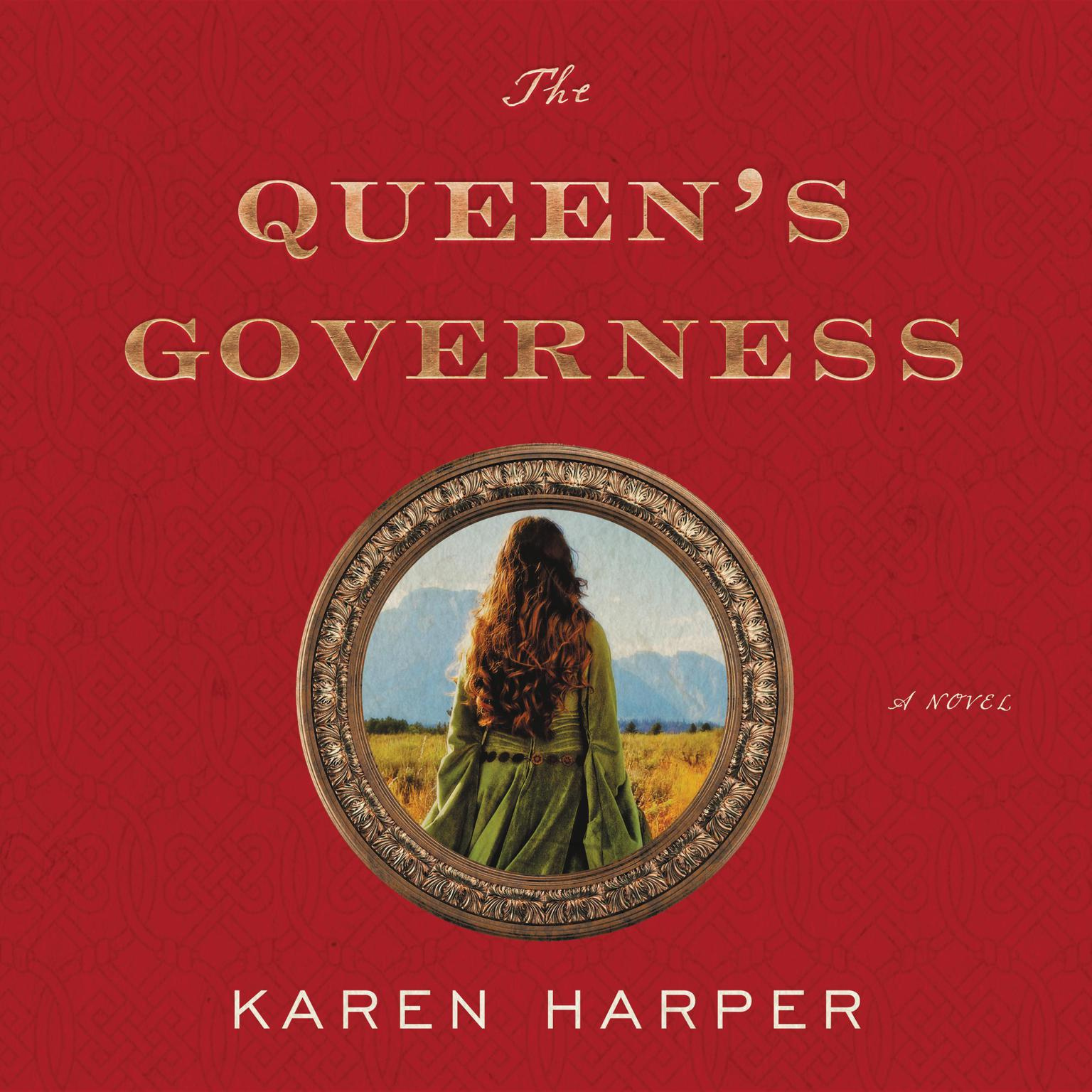 Printable The Queen's Governess: A Novel Audiobook Cover Art