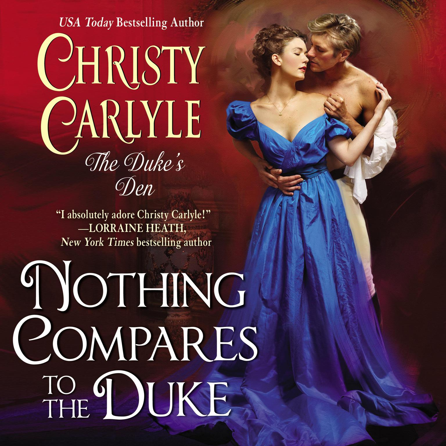 Printable Nothing Compares to the Duke: The Duke's Den Audiobook Cover Art