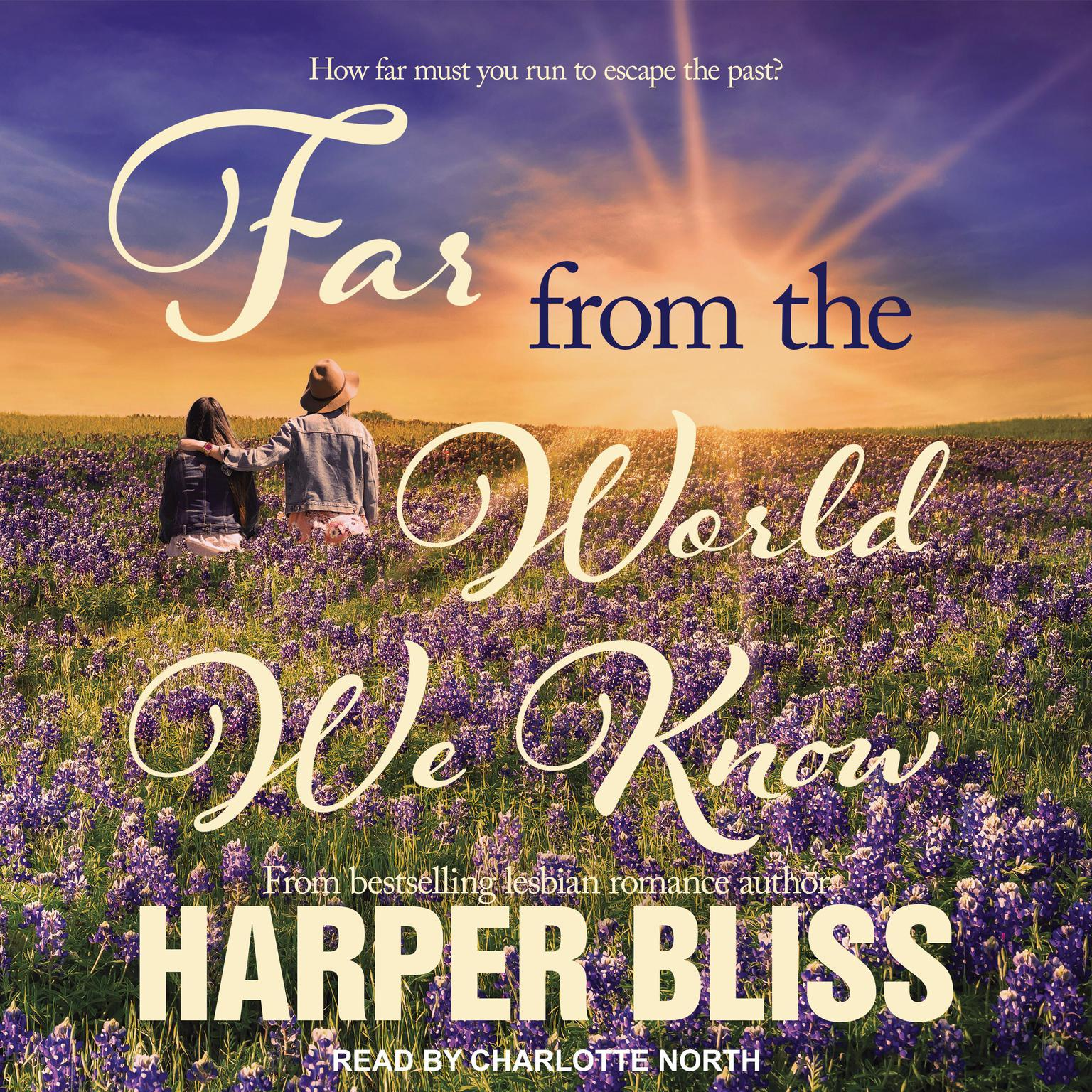 Printable Far From the World We Know Audiobook Cover Art