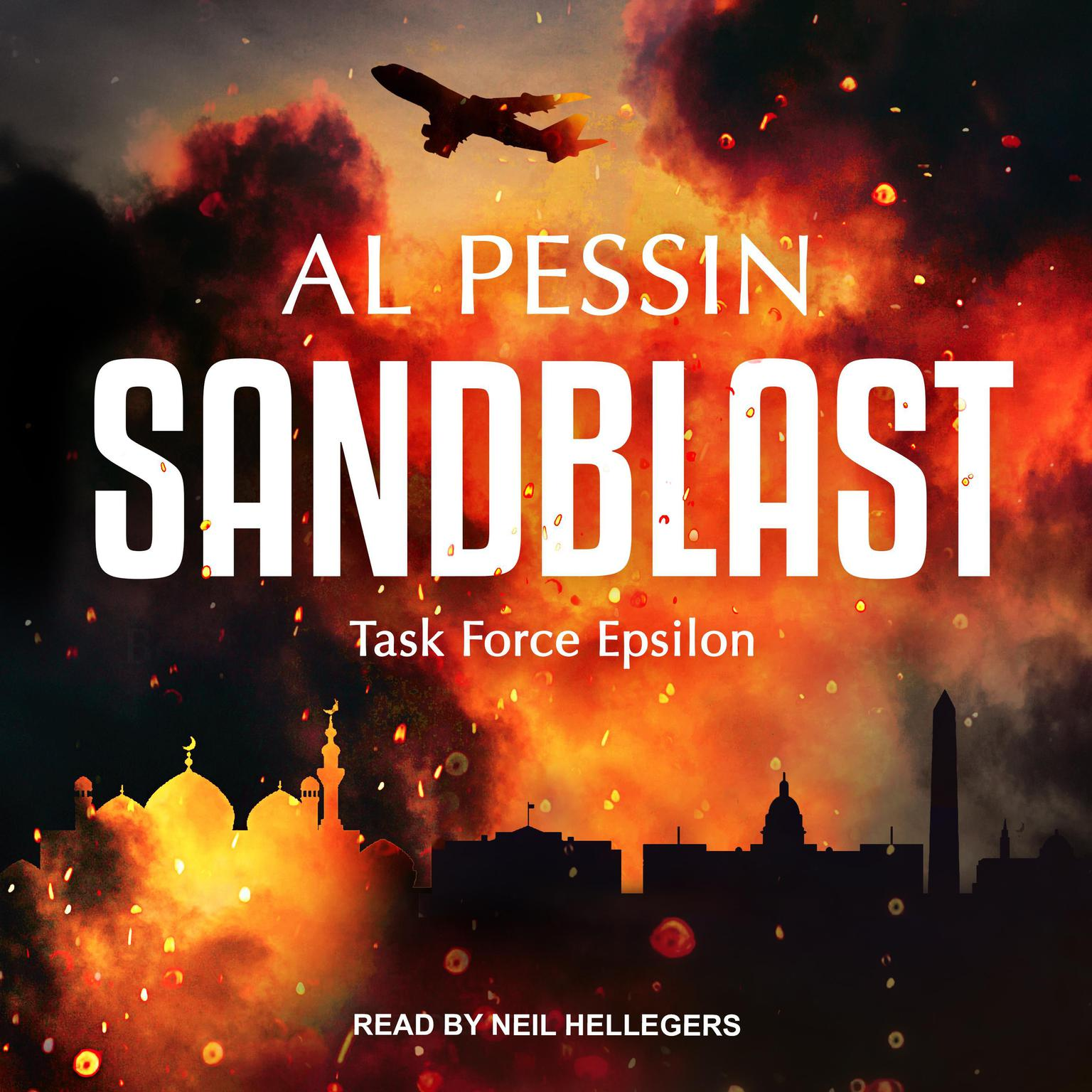 Printable Sandblast Audiobook Cover Art