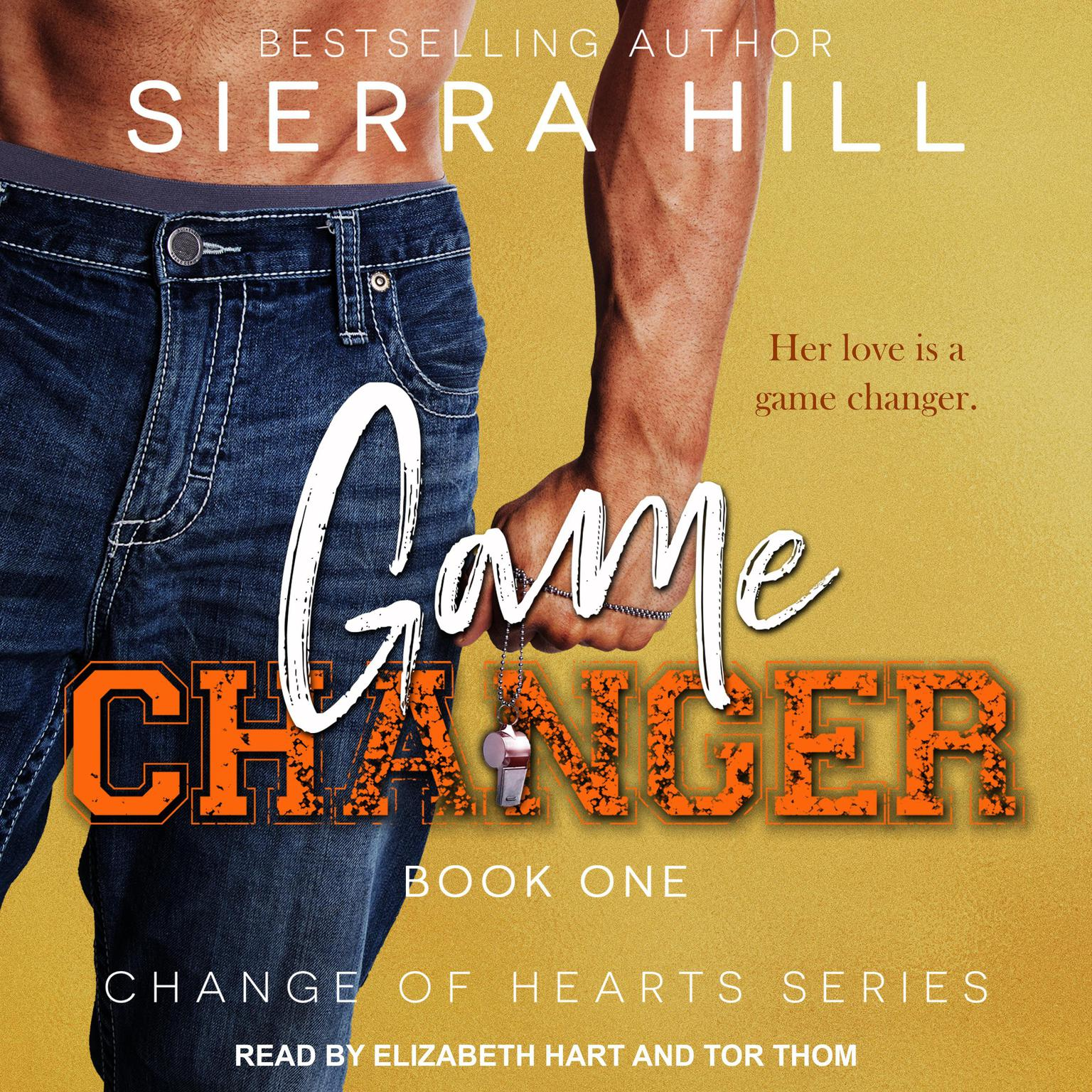 Printable Game Changer Audiobook Cover Art