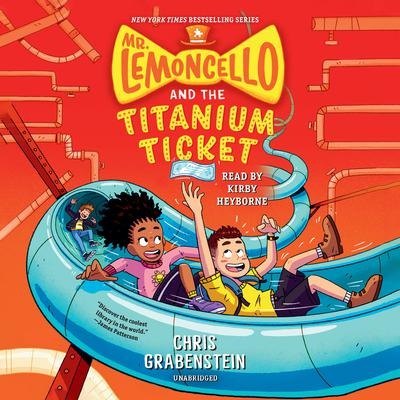 Mr. Lemoncello and the Titanium Ticket Audiobook, by