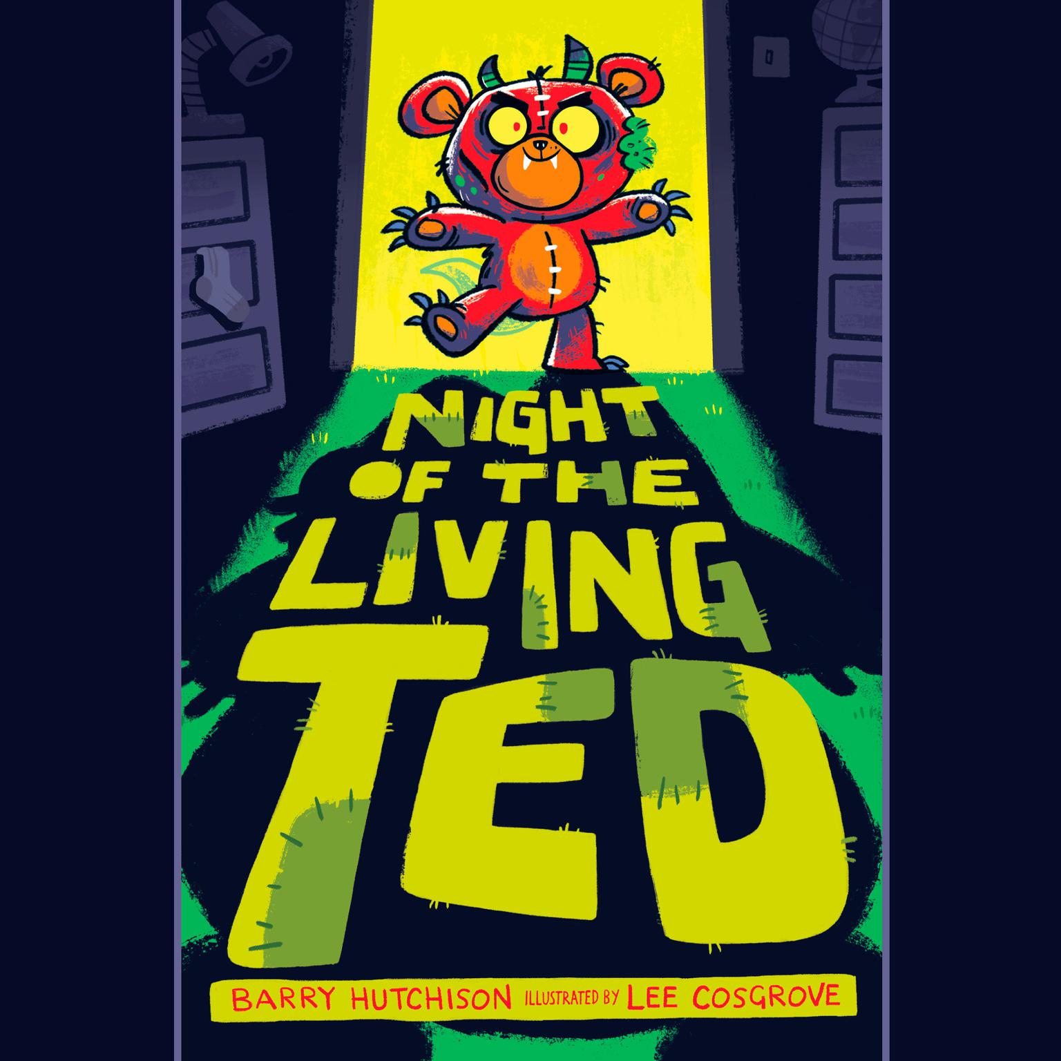 Printable Night of the Living Ted Audiobook Cover Art
