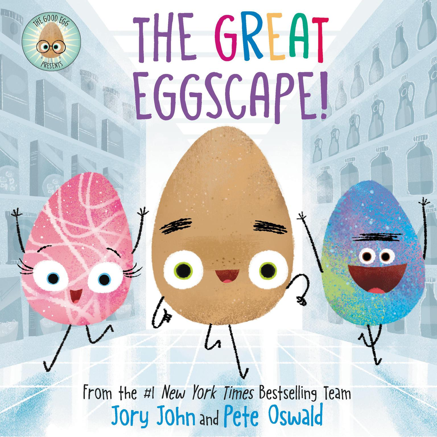 Printable The Good Egg Presents: The Great Eggscape! Audiobook Cover Art