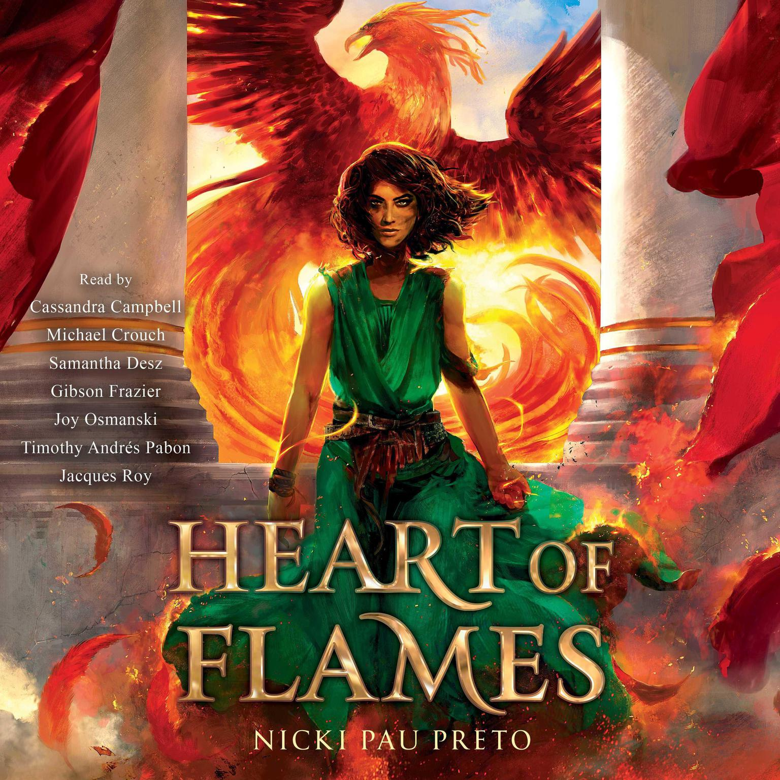 Printable Heart of Flames Audiobook Cover Art