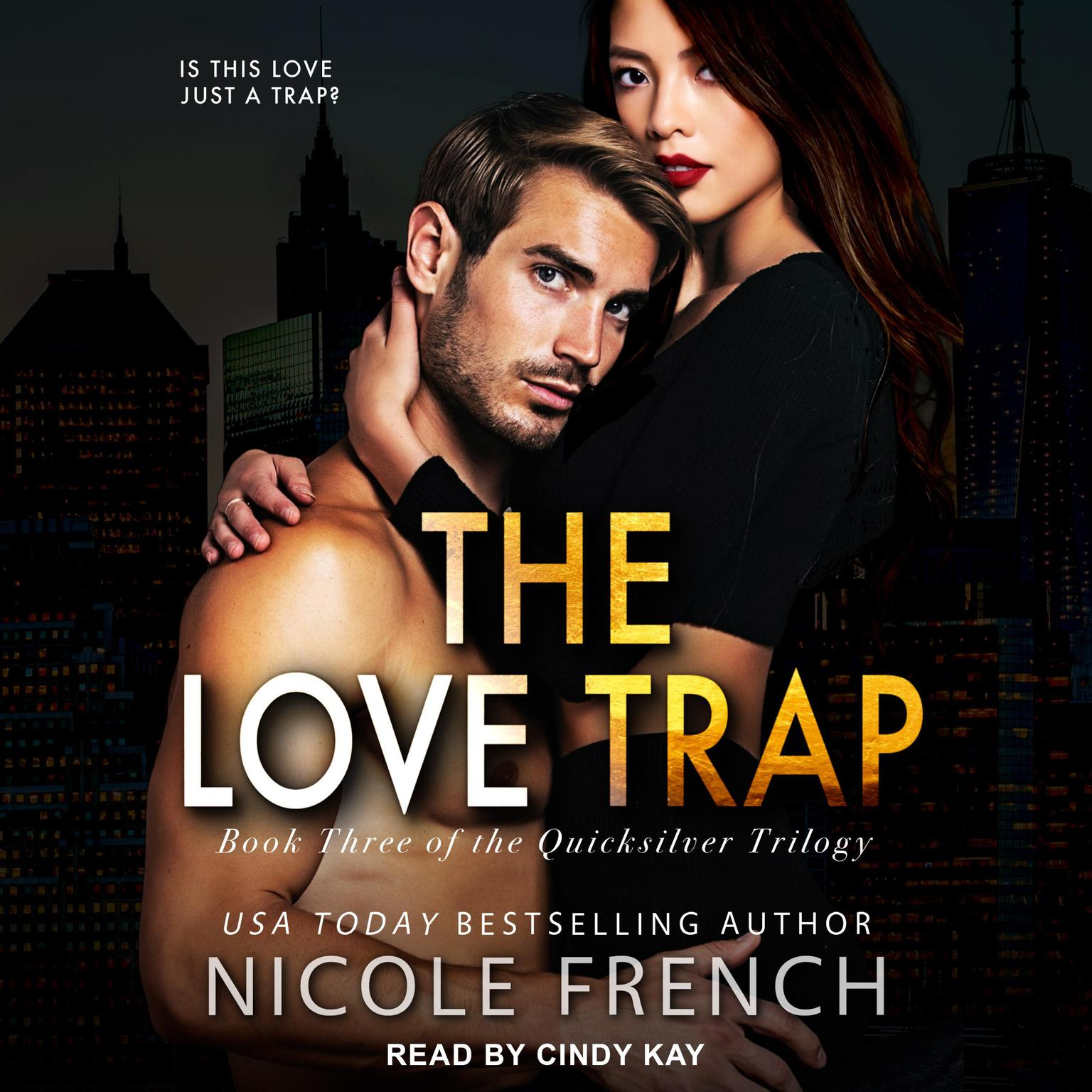 Printable The Love Trap Audiobook Cover Art