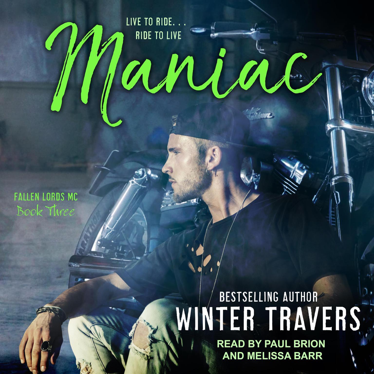 Printable Maniac Audiobook Cover Art