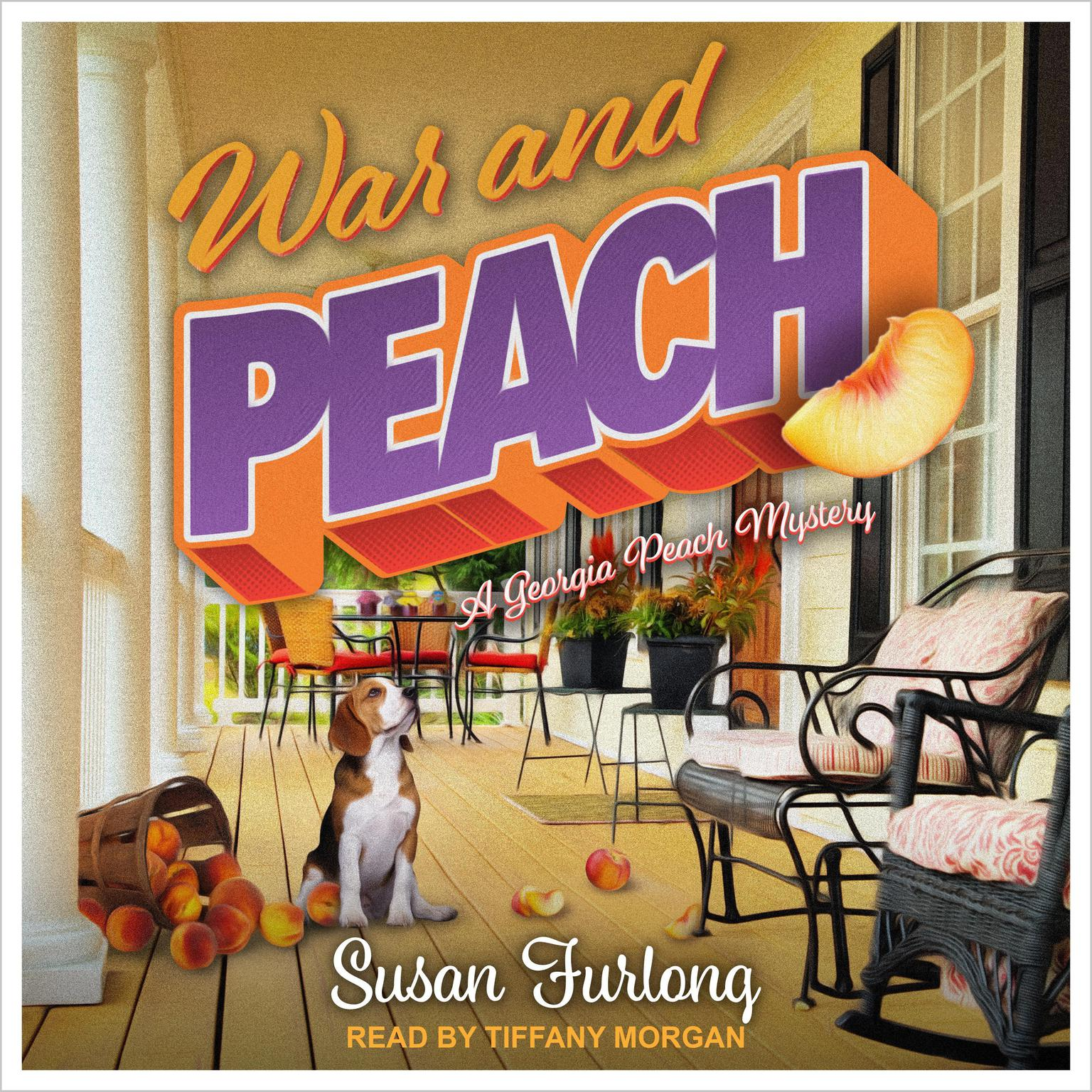 Printable War and Peach Audiobook Cover Art