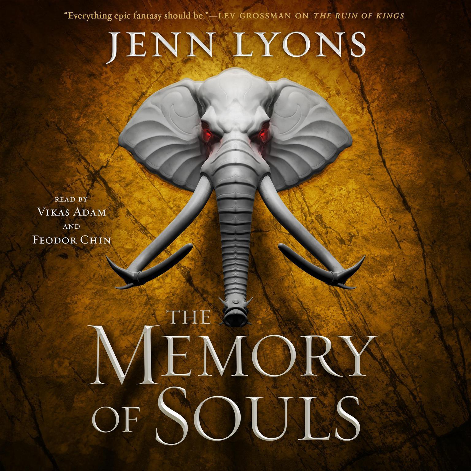 The Memory of Souls Audiobook, by Jenn Lyons
