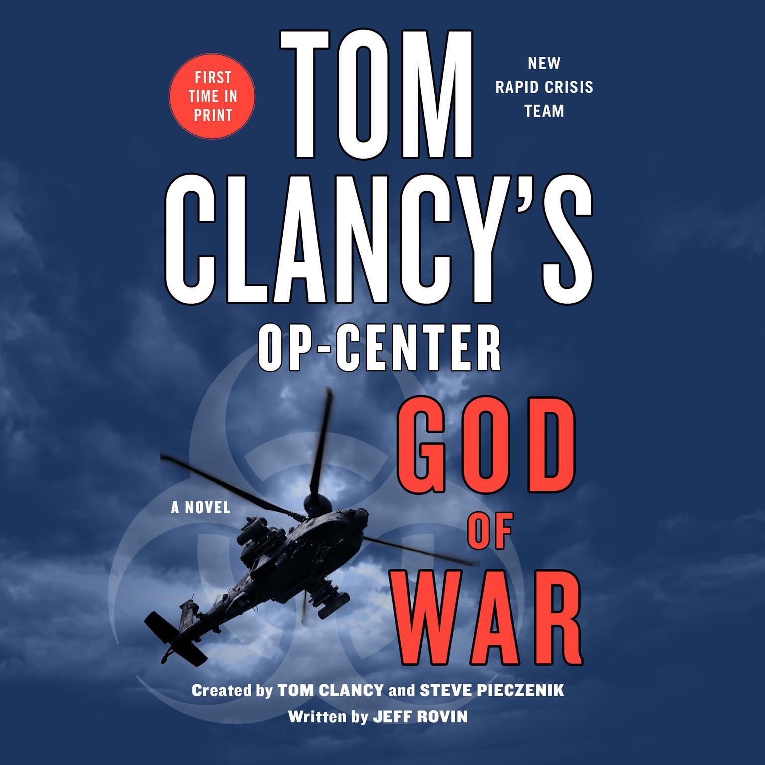 Tom Clancys Op-Center: God of War: A Novel Audiobook, by Jeff Rovin