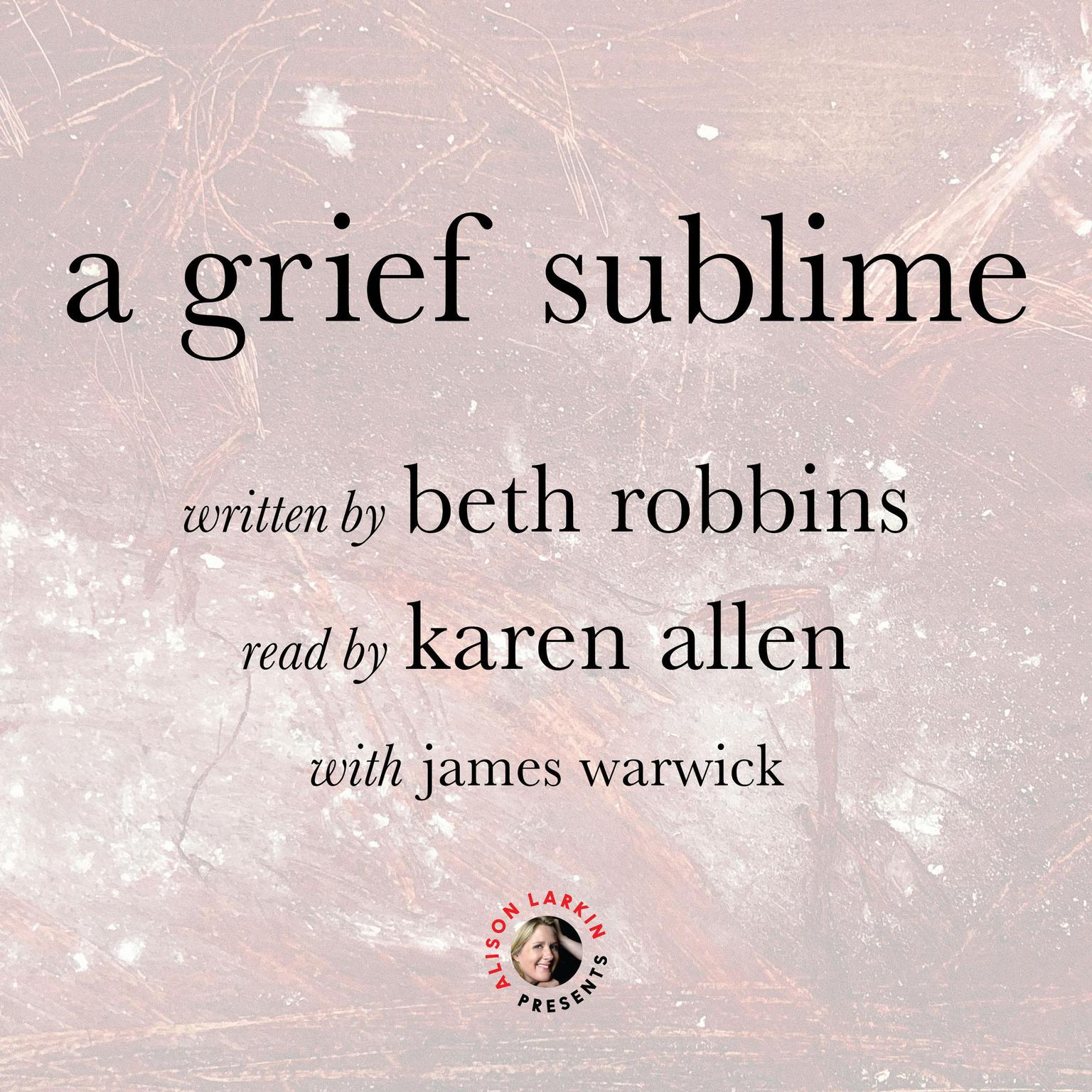 Printable A Grief Sublime Audiobook Cover Art