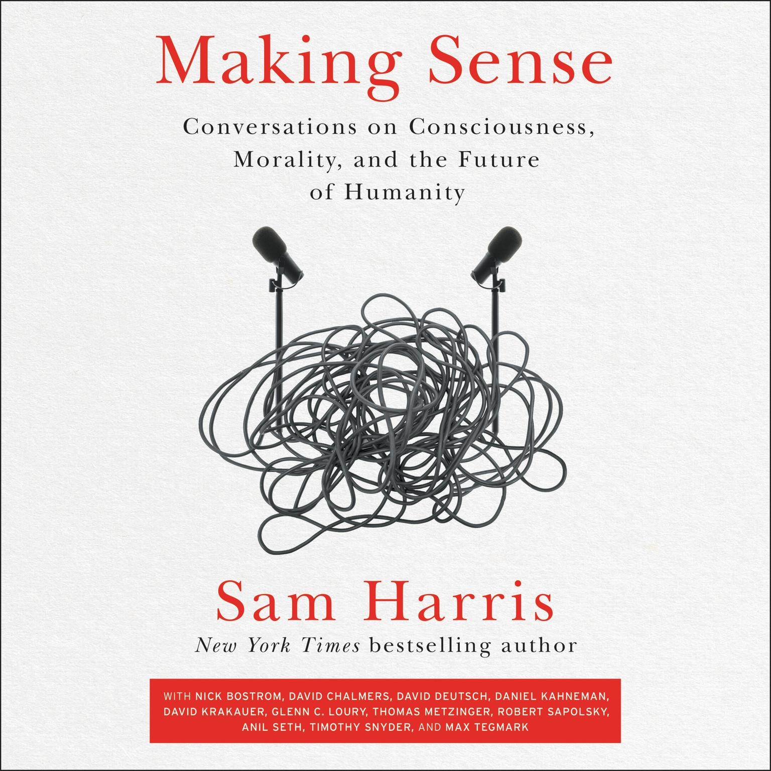 Printable Making Sense: Conversations on Consciousness, Morality, and the Future of Humanity Audiobook Cover Art