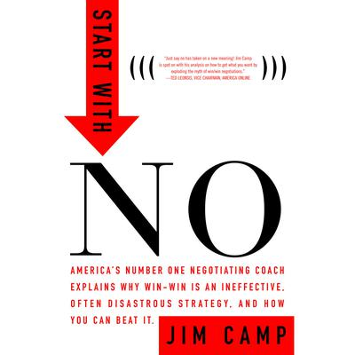 Start with No: The Negotiating Tools That the Pros Dont Want You to Know Audiobook, by