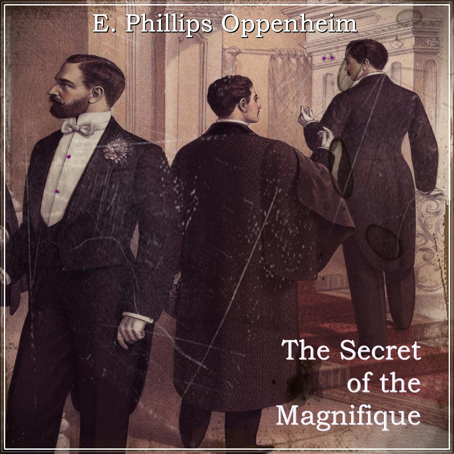 Printable The Secret of the Magnifique Audiobook Cover Art