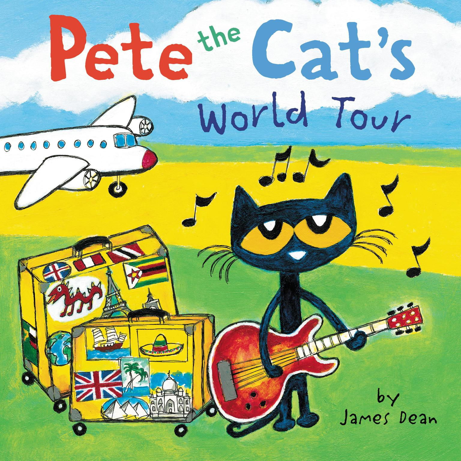 Pete the Cats World Tour Audiobook, by James Dean
