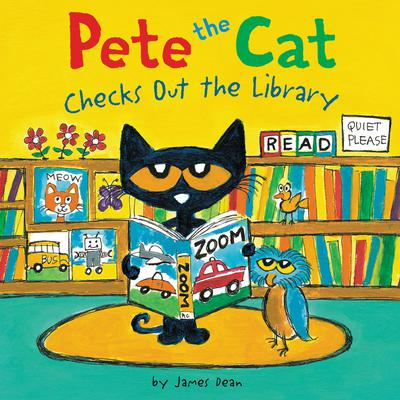 Pete the Cat Checks Out the Library Audiobook, by James Dean