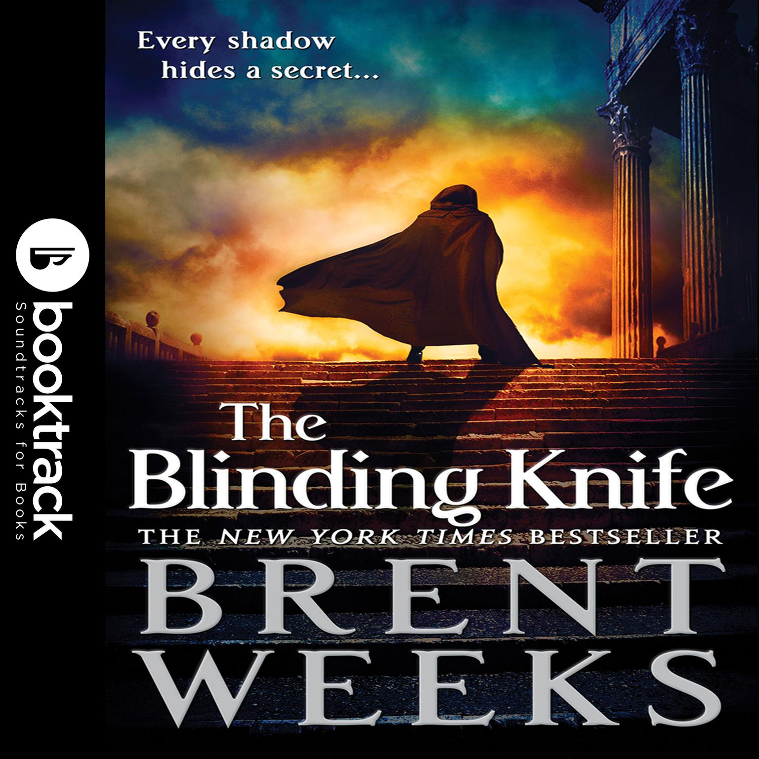 Printable The Blinding Knife Audiobook Cover Art