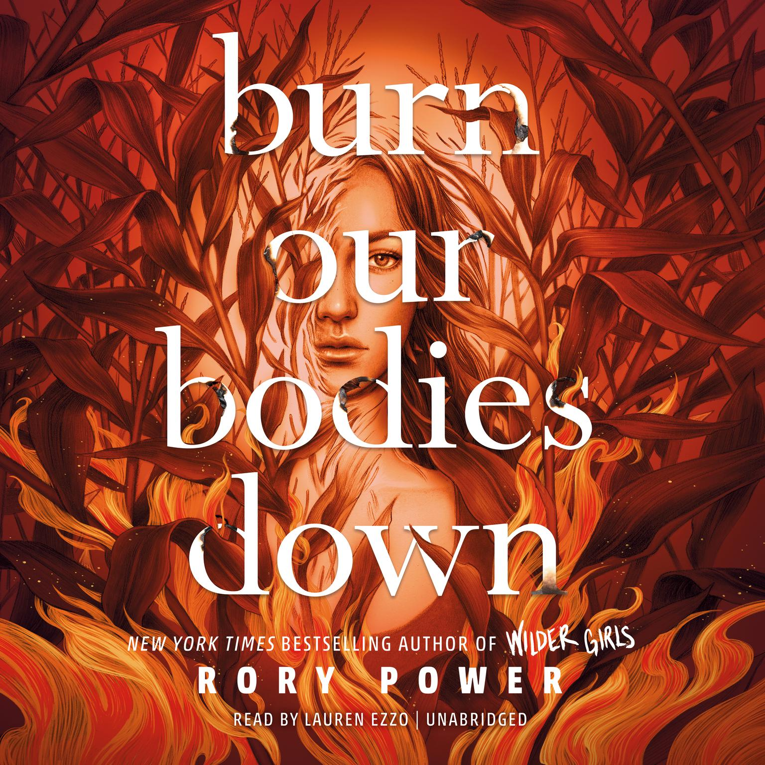 Printable Burn Our Bodies Down Audiobook Cover Art