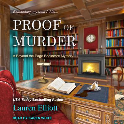 Proof of Murder Audiobook, by Lauren Elliott