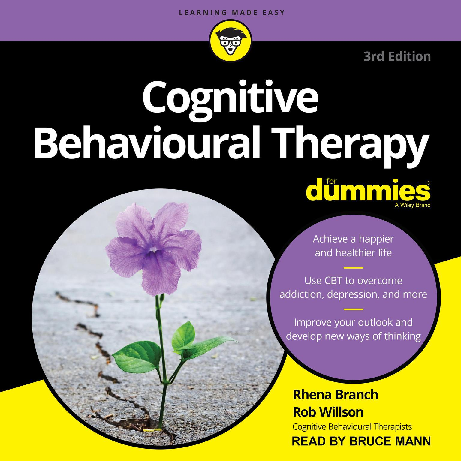 Printable Cognitive Behavioural Therapy For Dummies: 3rd Edition Audiobook Cover Art