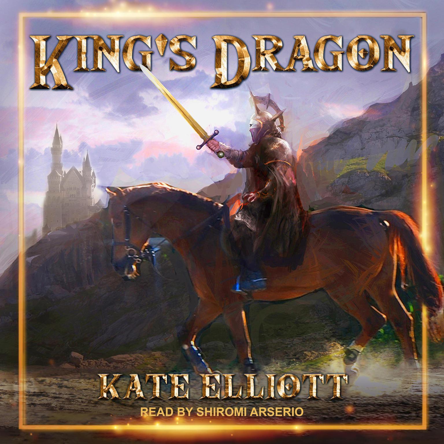 Printable King's Dragon Audiobook Cover Art