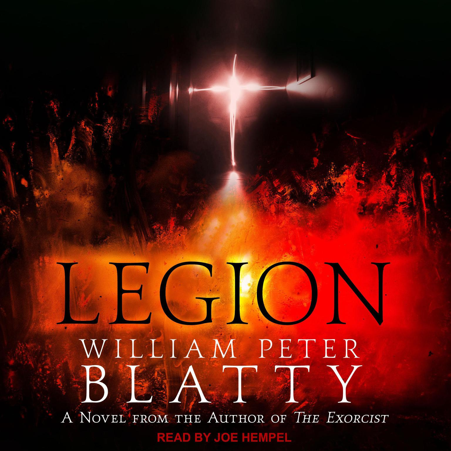 Printable Legion: A Novel from the Author of The Exorcist Audiobook Cover Art