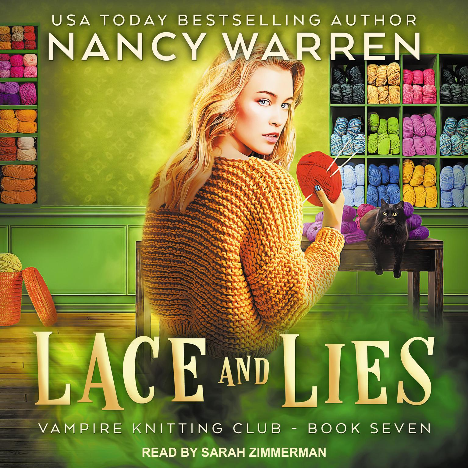Printable Lace and Lies Audiobook Cover Art