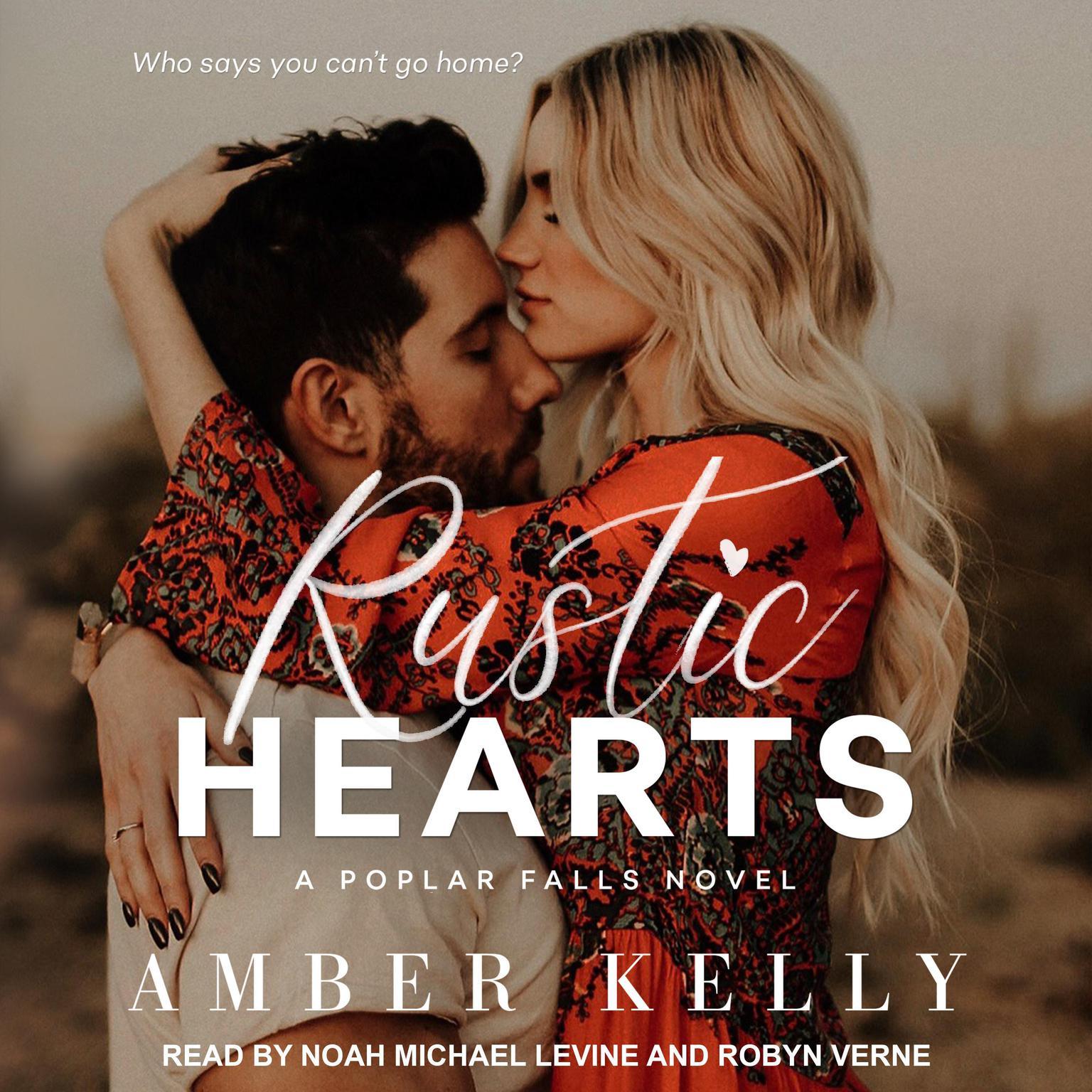 Printable Rustic Hearts Audiobook Cover Art