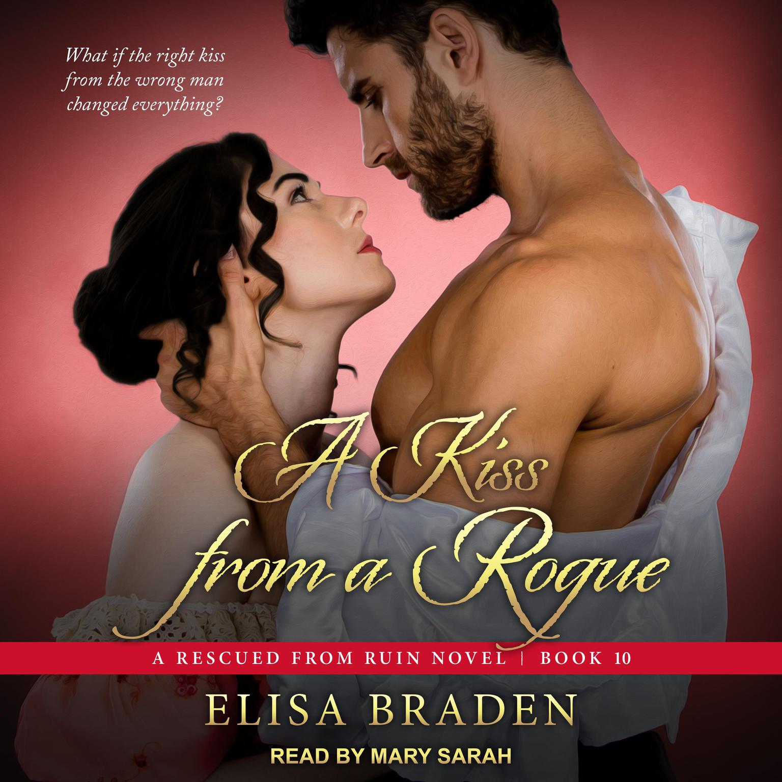 Printable A Kiss from a Rogue Audiobook Cover Art