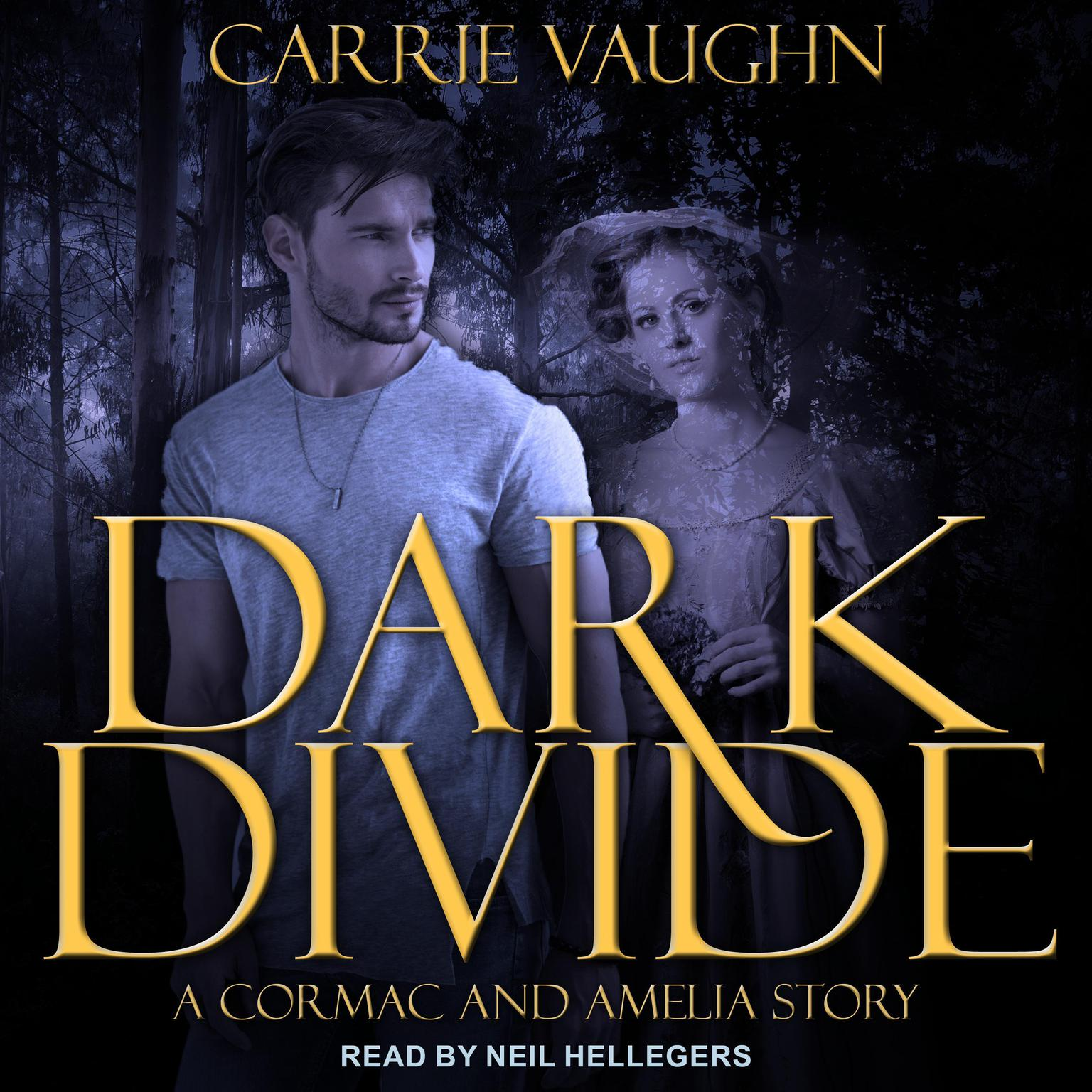 Printable Dark Divide & Badlands Witch: A Cormac and Amelia Story Audiobook Cover Art