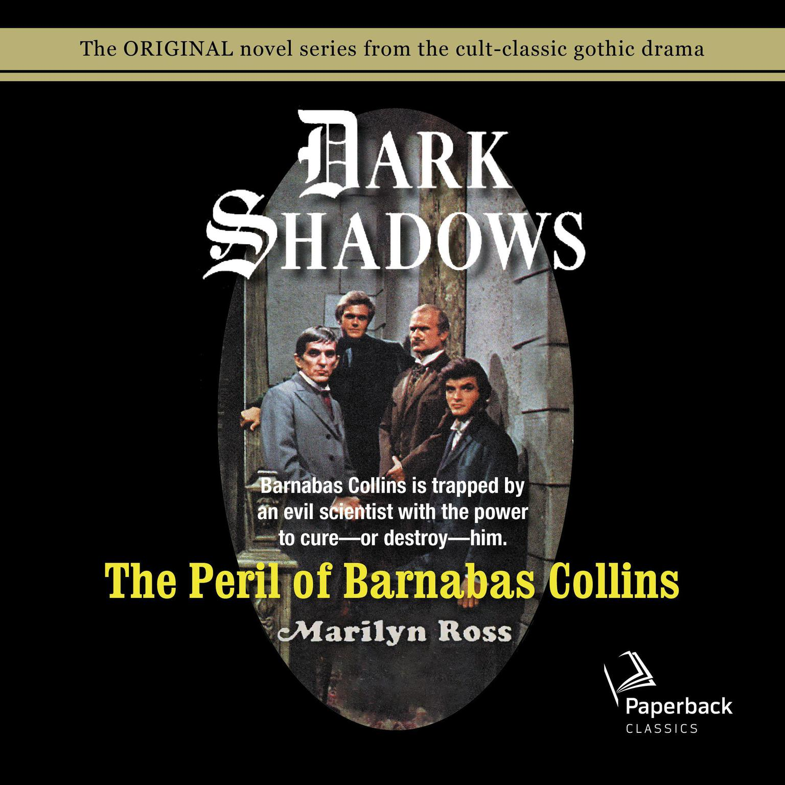 Printable The Peril of Barnabas Collins Audiobook Cover Art