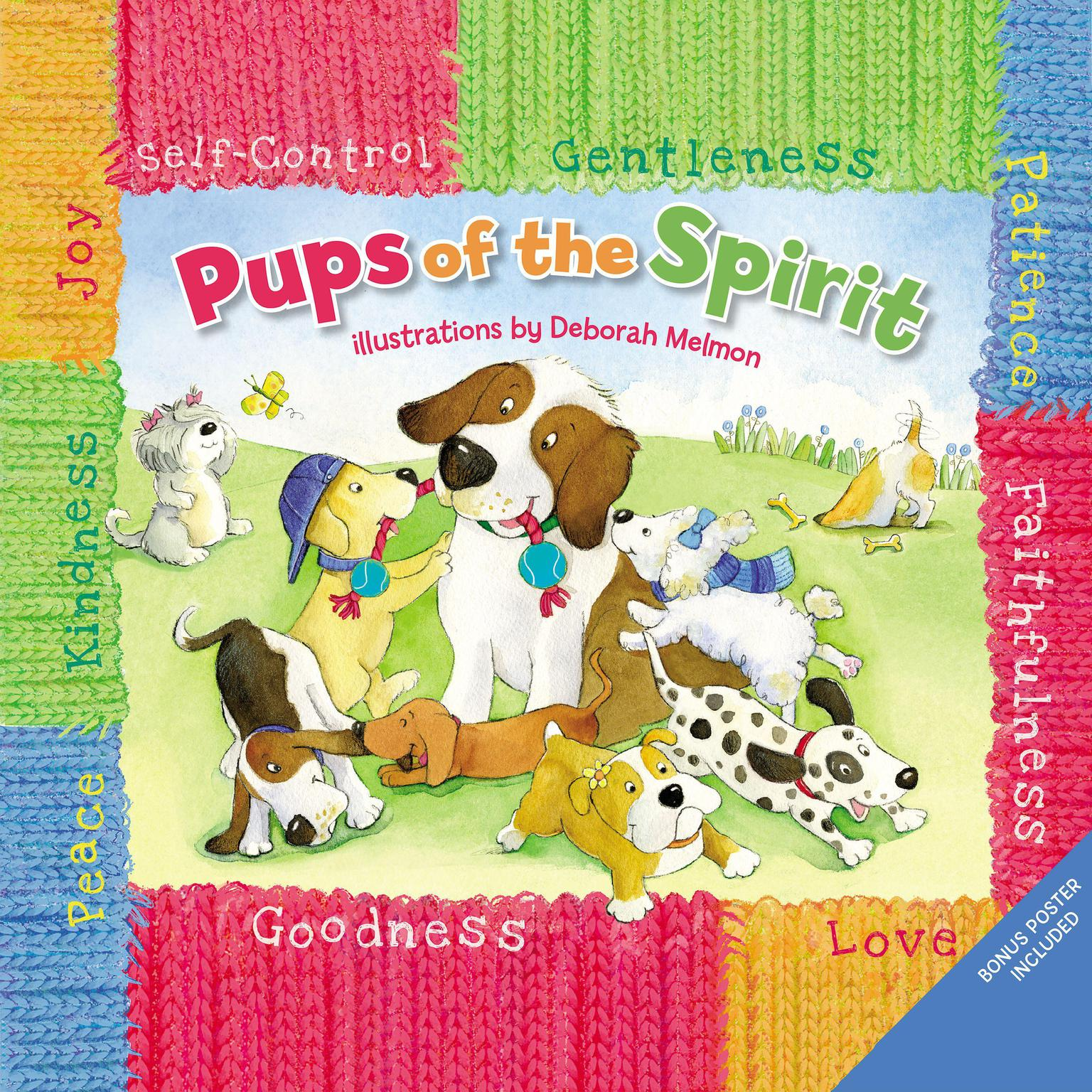 Printable Pups of the Spirit Audiobook Cover Art