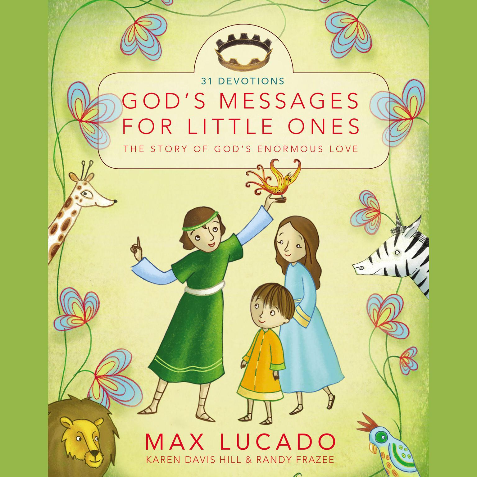Printable God's Messages for Little Ones (31 Devotions): The Story of God's Enormous Love Audiobook Cover Art