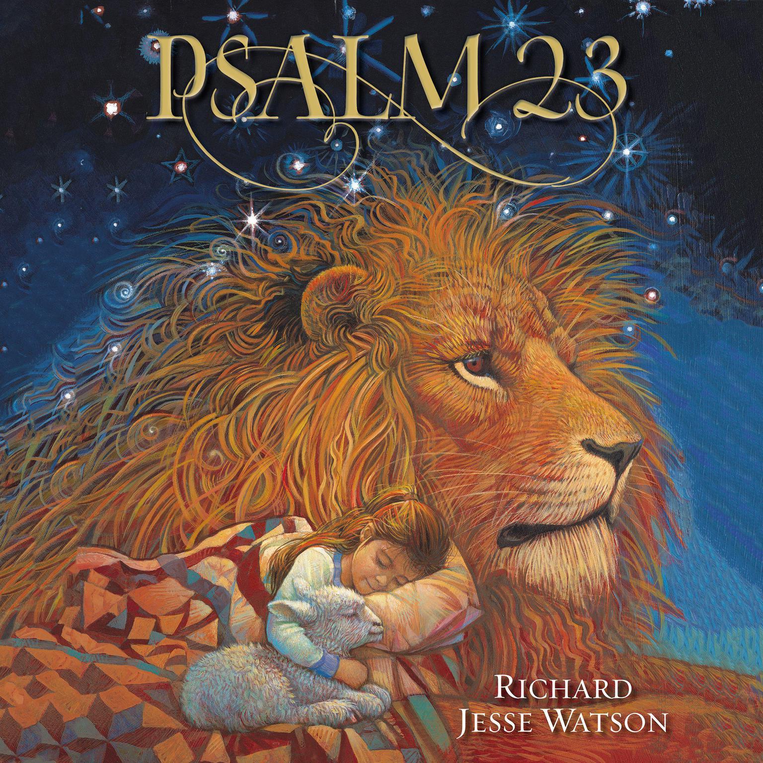 Printable Psalm 23 Audiobook Cover Art