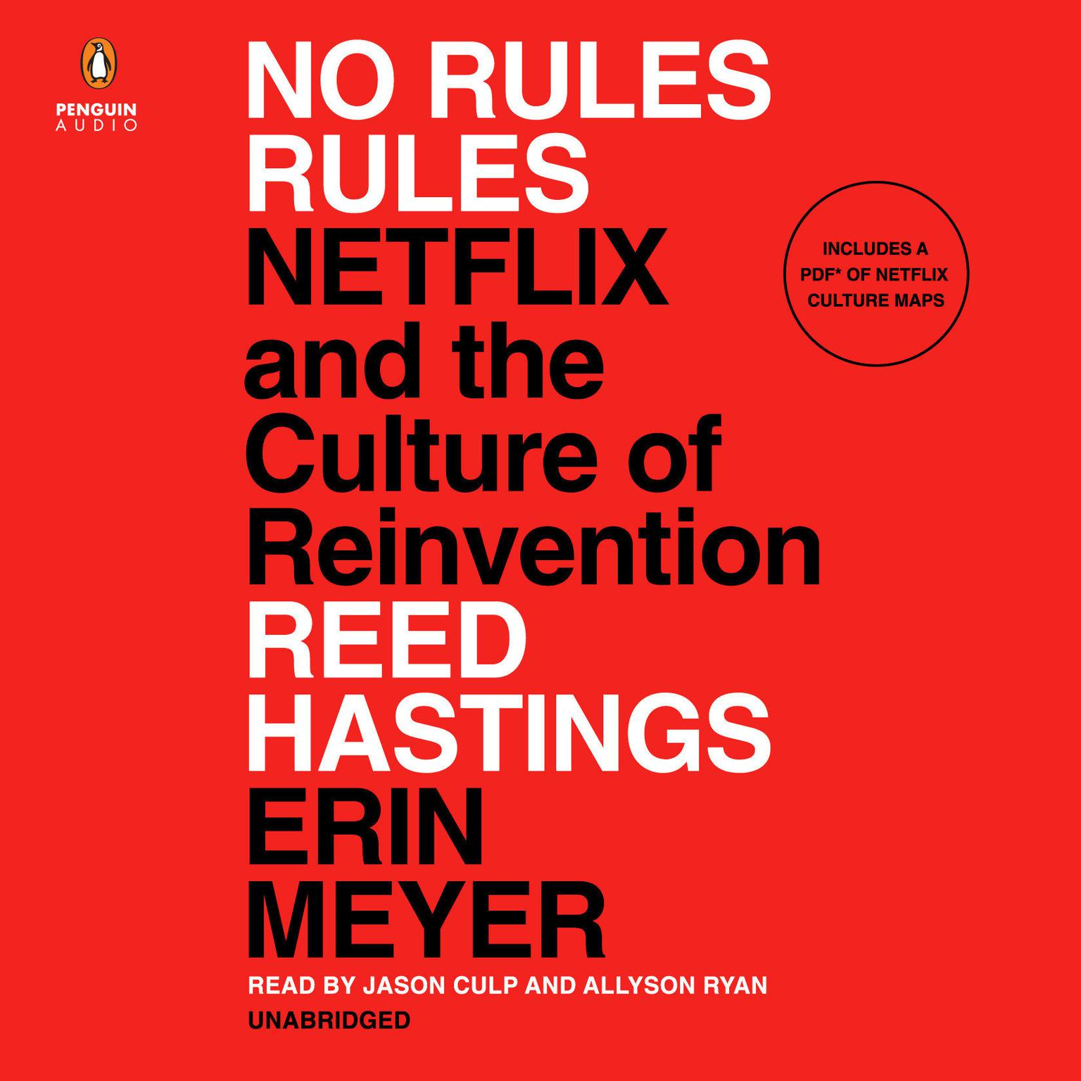 No Rules Rules: Netflix and the Culture of Reinvention Audiobook, by Erin Meyer