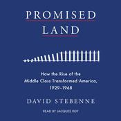 Promised Land: How the Rise of the Middle Class Transformed America, 1929-1968 Audiobook, by David Stebenne
