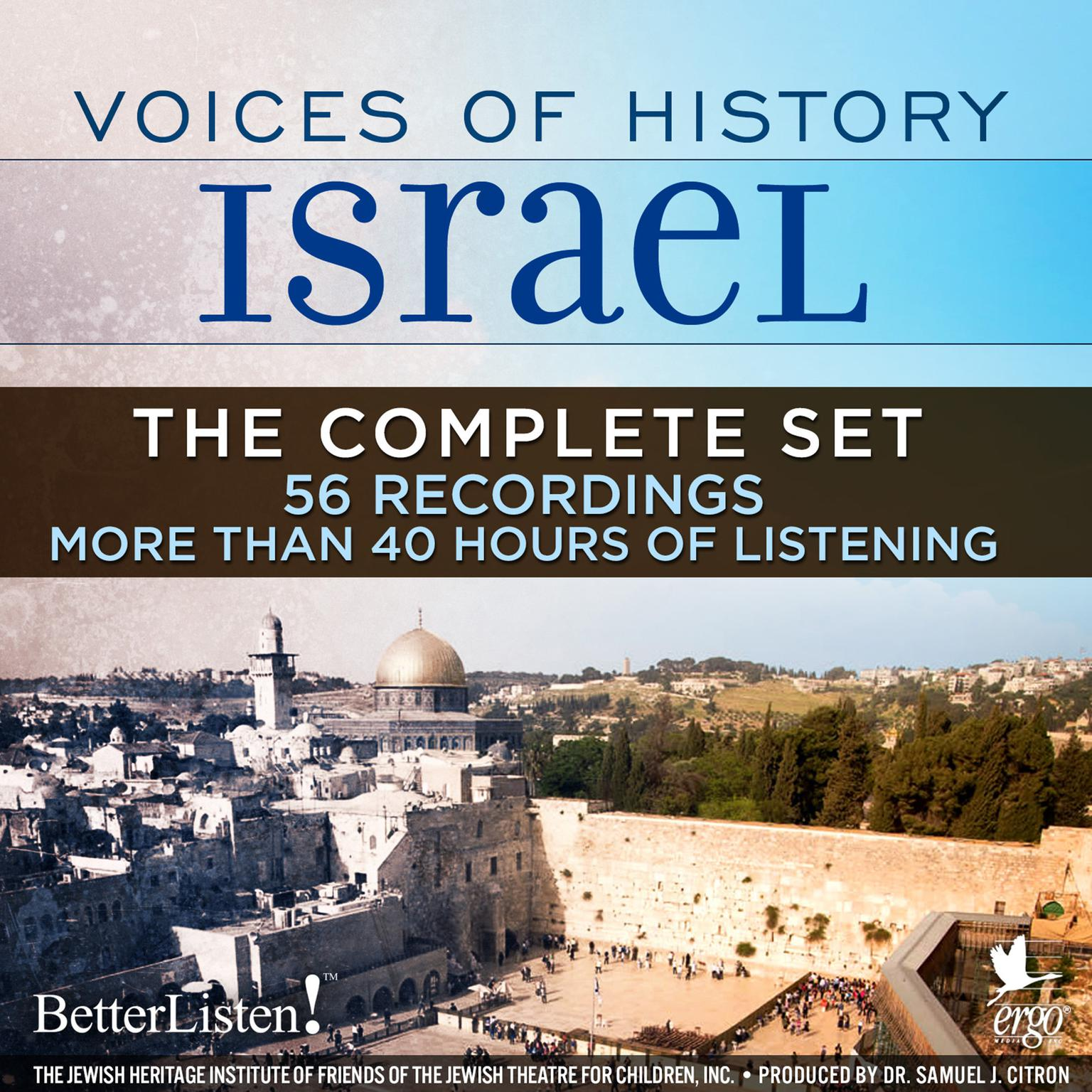 Printable Voices of History Israel: The Complete Set Audiobook Cover Art