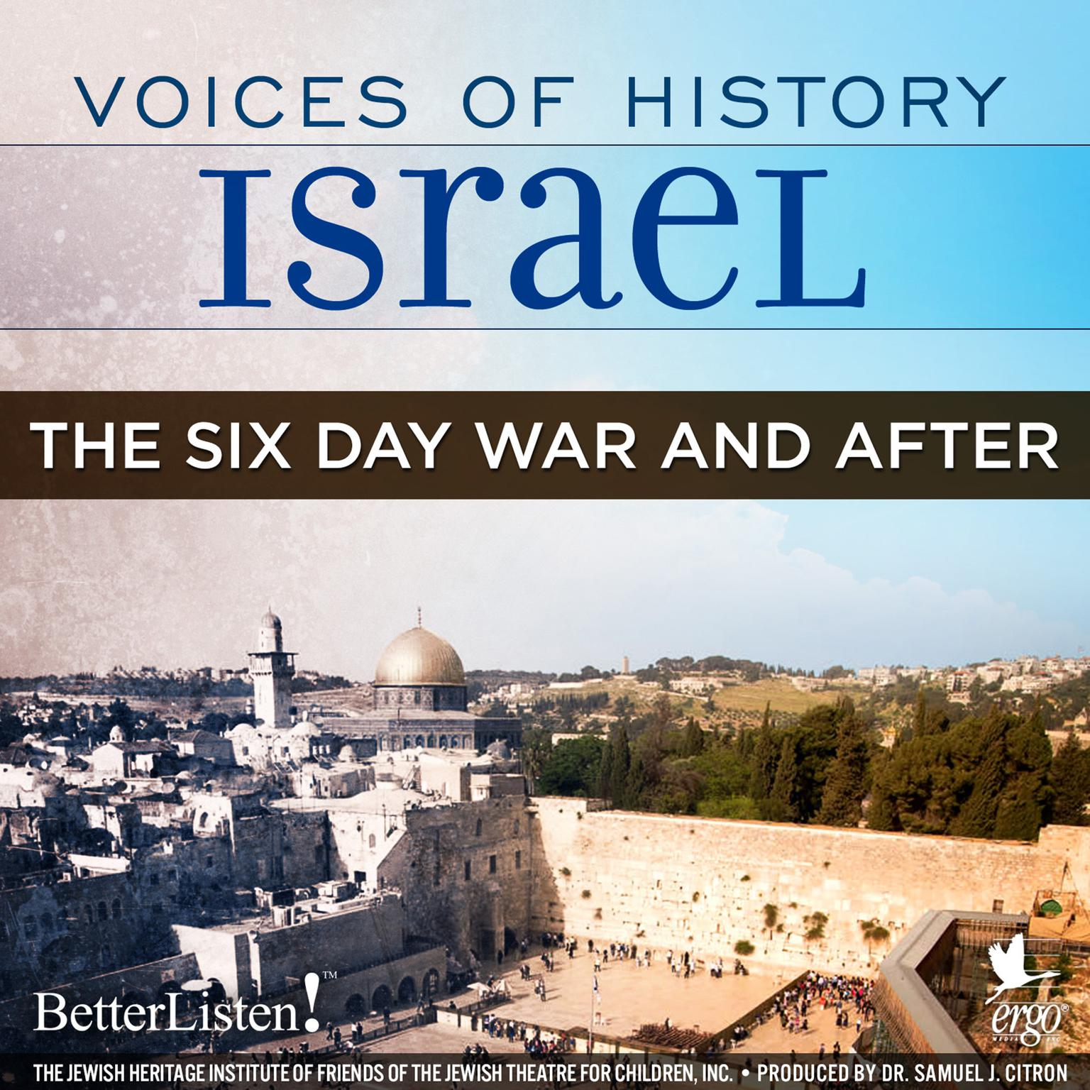 Printable Voices of History Israel: The Six Day War and After Audiobook Cover Art