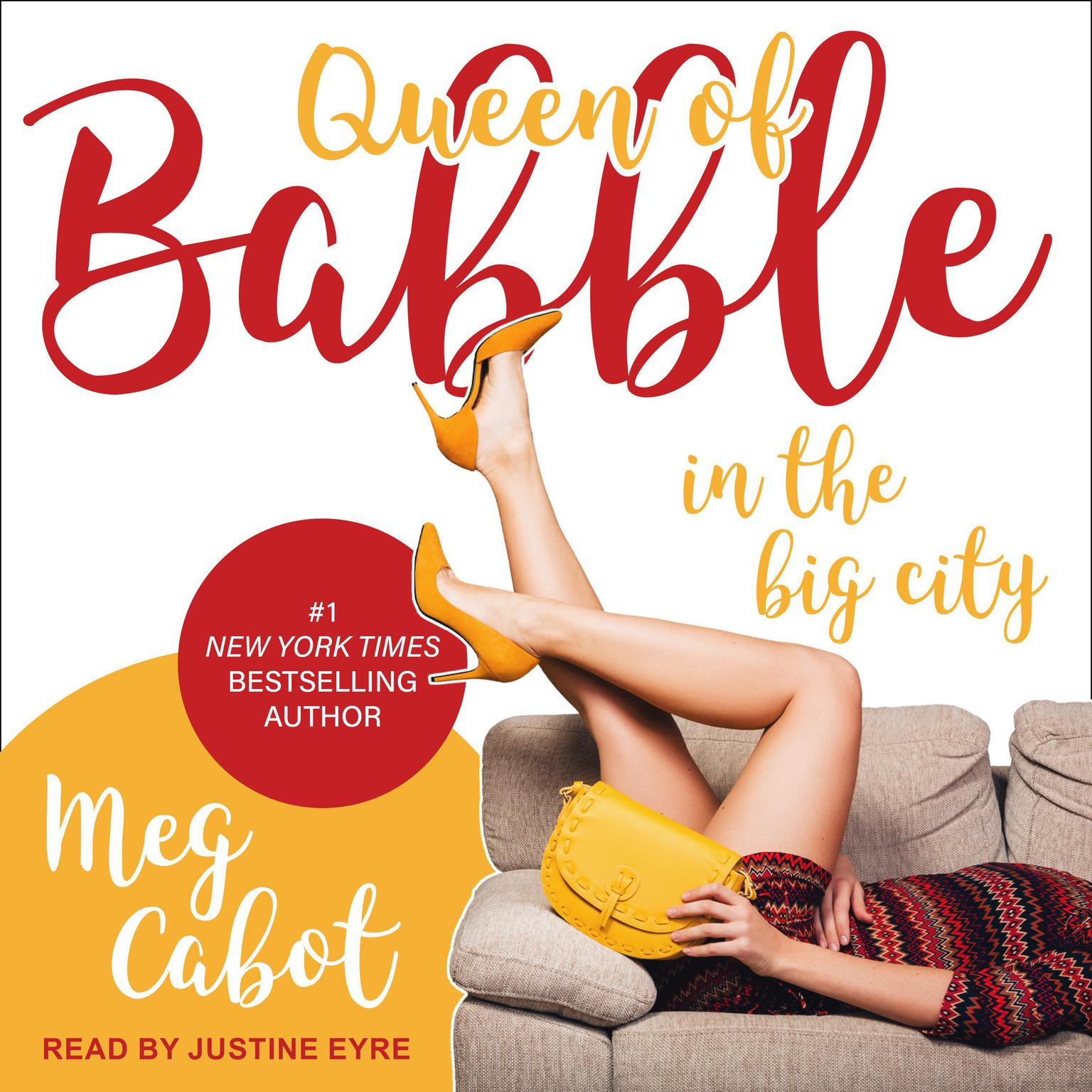 Printable Queen of Babble in the Big City Audiobook Cover Art