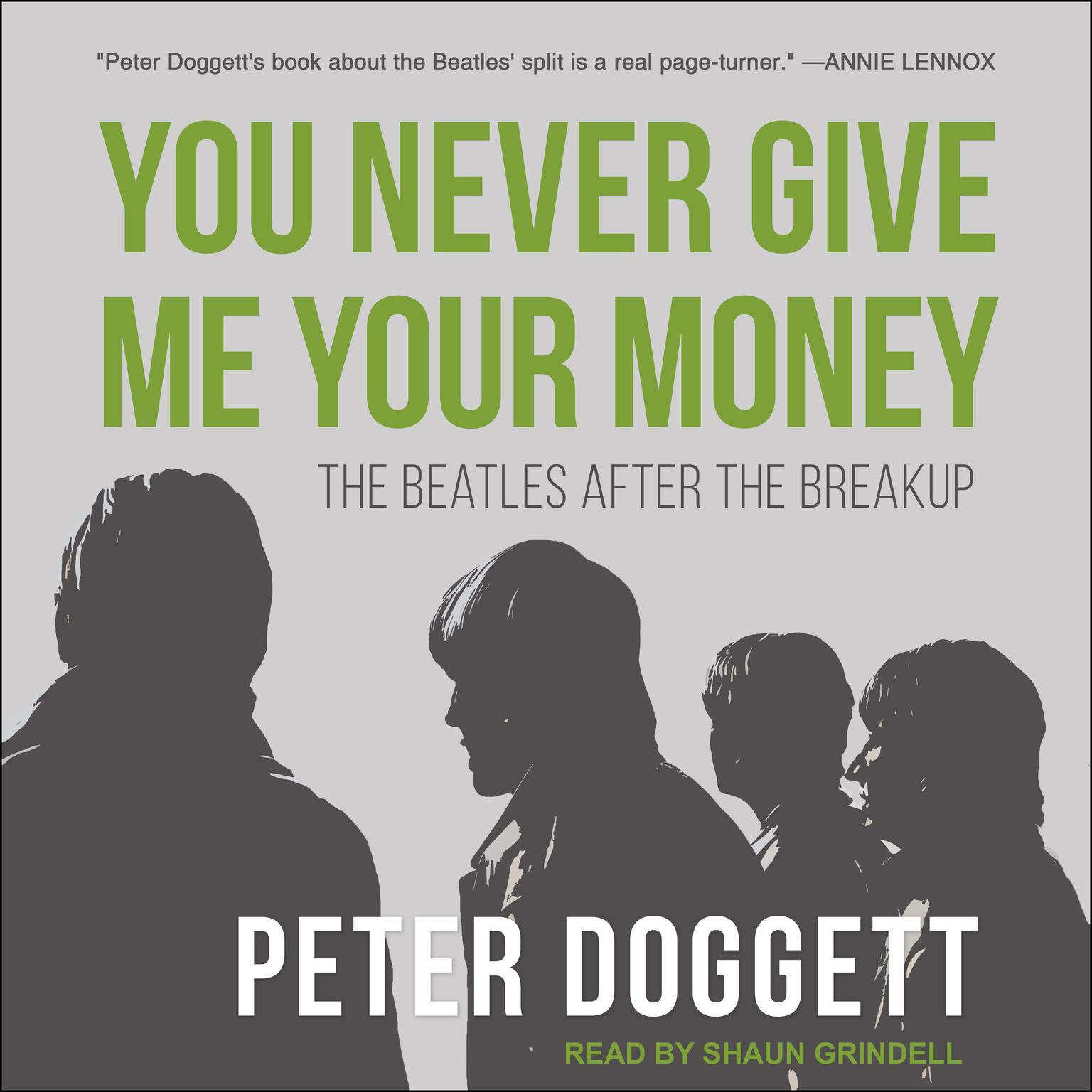 Printable You Never Give Me Your Money: The Beatles After the Breakup Audiobook Cover Art