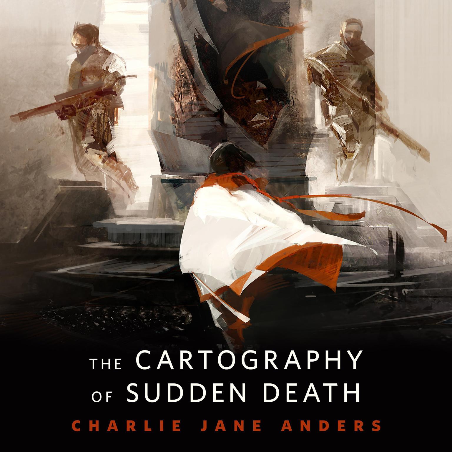 Printable The Cartography of Sudden Death: A Tor.Com Original Audiobook Cover Art