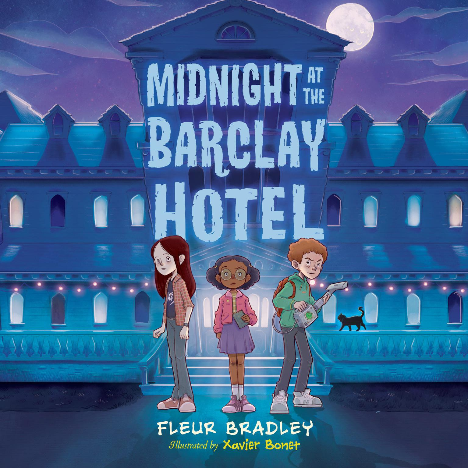 Midnight at the Barclay Hotel Audiobook, by Fleur Bradley