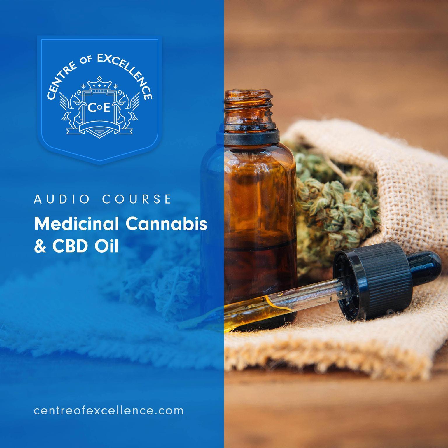 Printable Medicinal Cannabis & CBD Oil Audiobook Cover Art