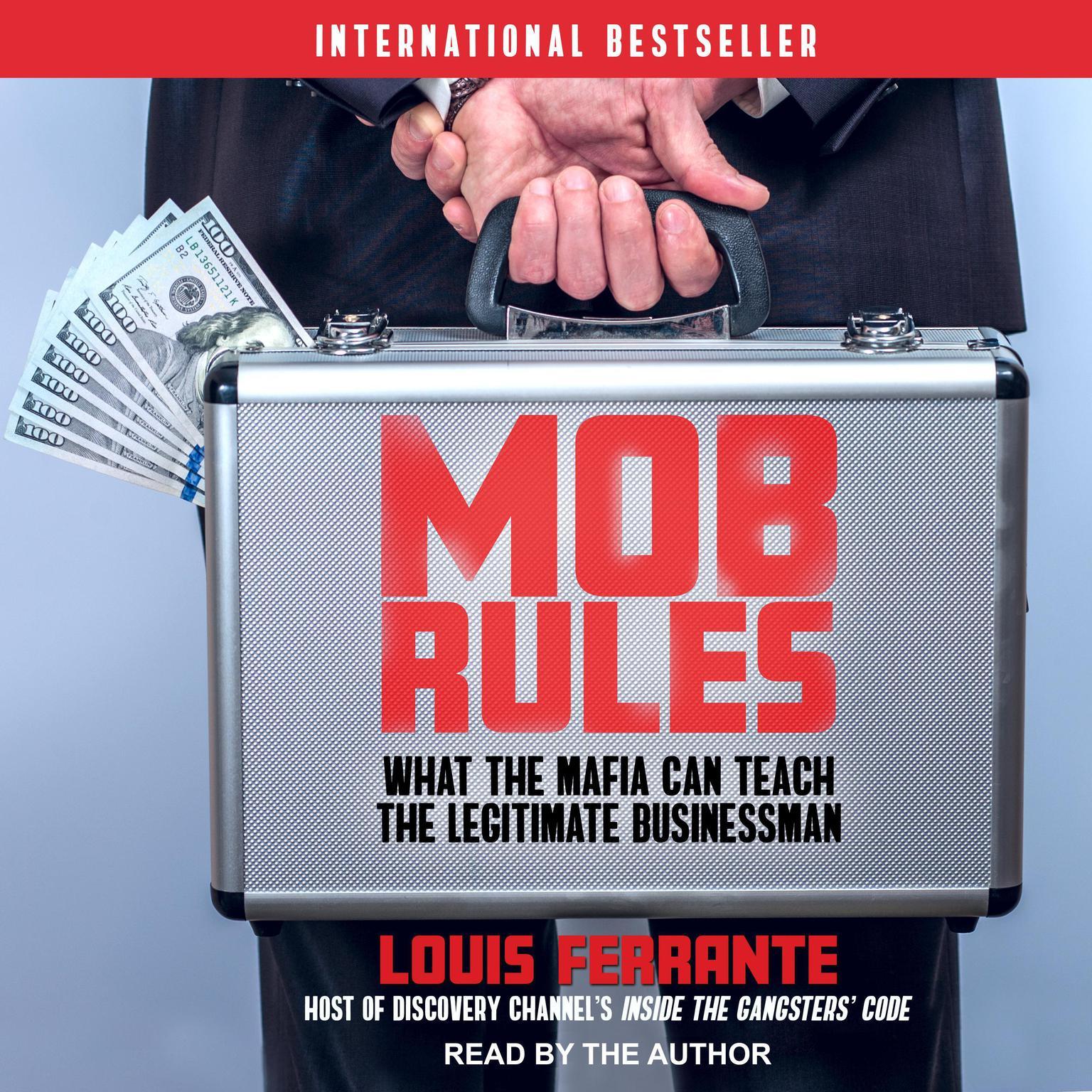 Printable Mob Rules: What the Mafia Can Teach the Legitimate Businessman Audiobook Cover Art