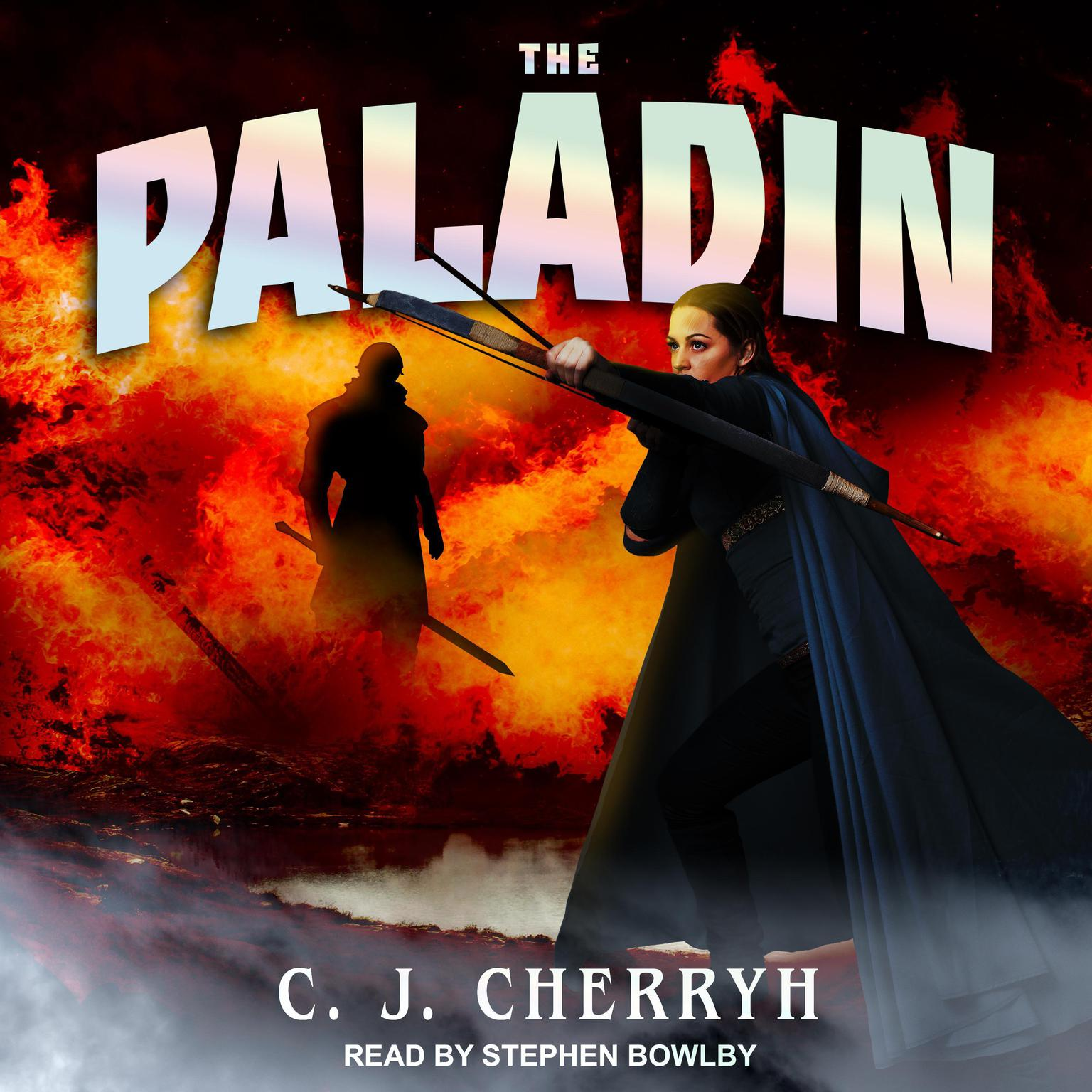 Printable The Paladin Audiobook Cover Art