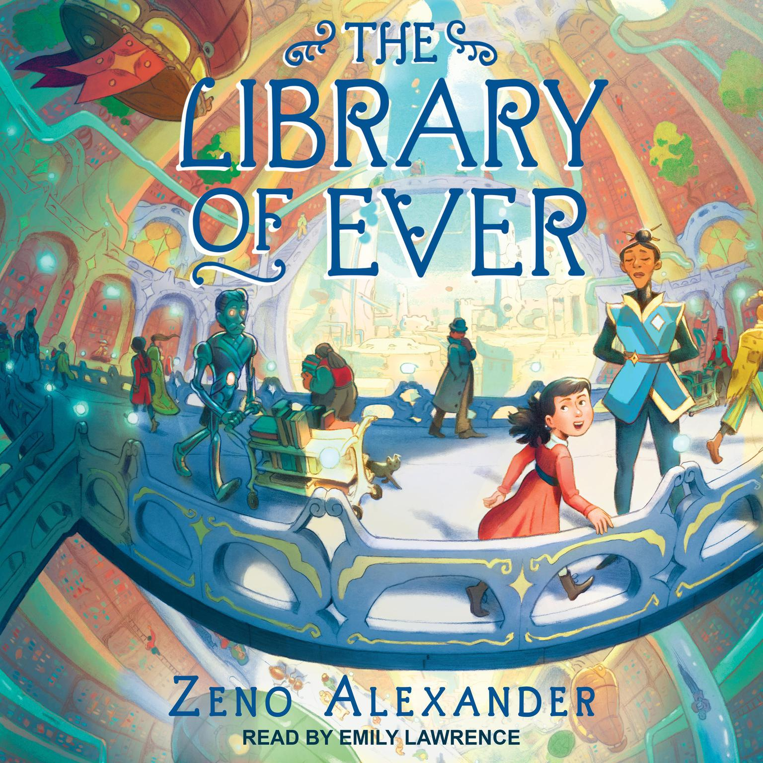 Printable The Library of Ever Audiobook Cover Art