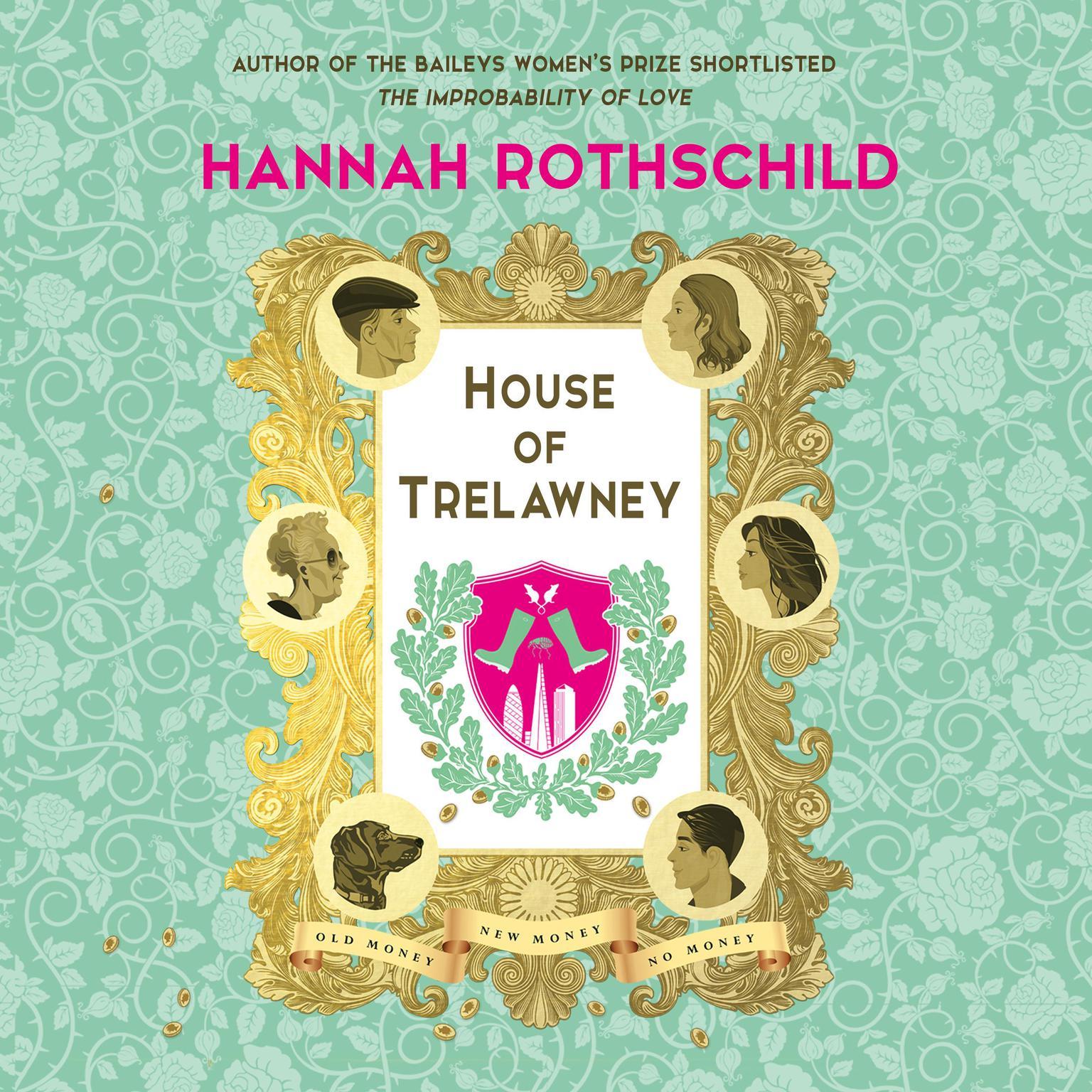Printable House of Trelawney Audiobook Cover Art