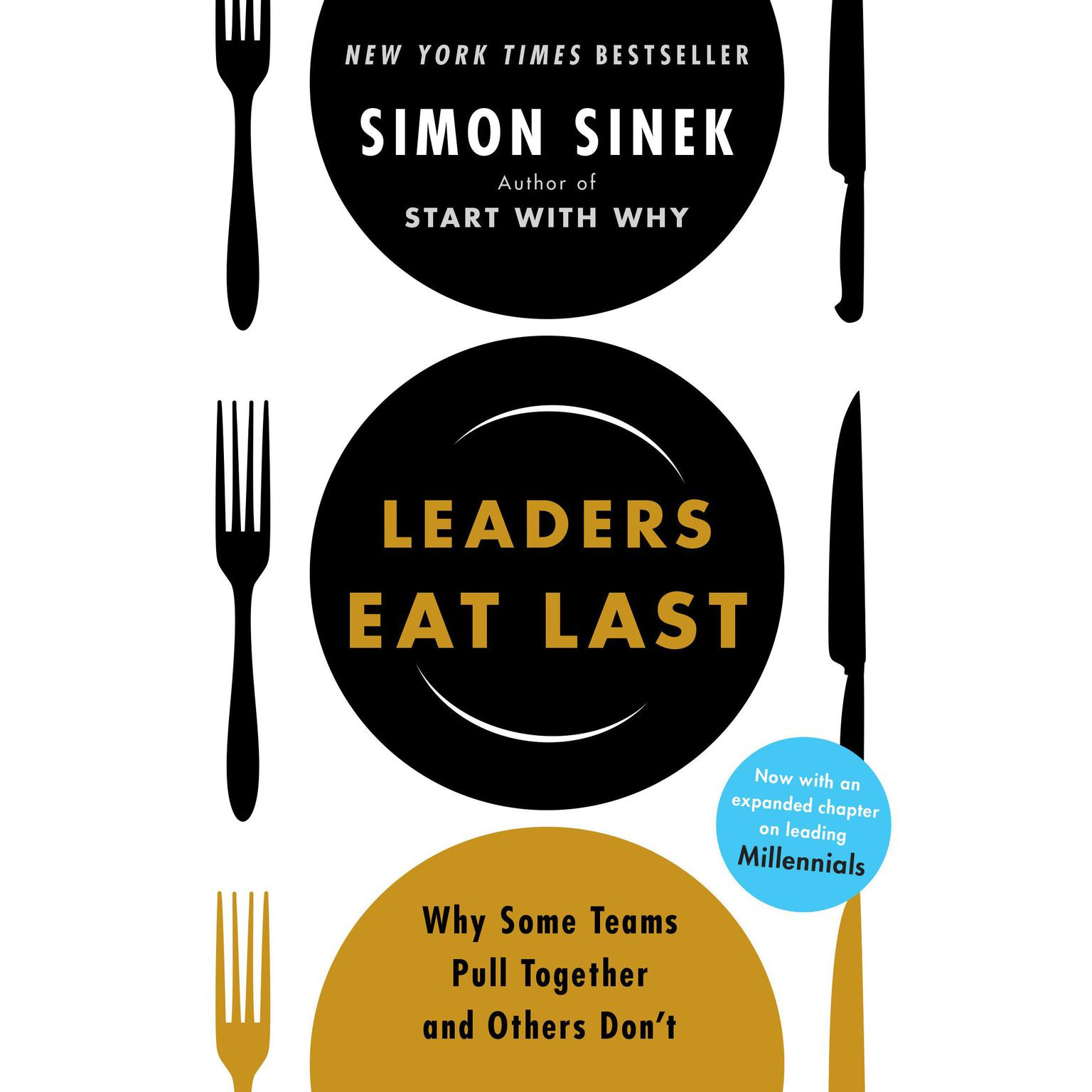 Printable Leaders Eat Last: Why Some Teams Pull Together and Others Don't Audiobook Cover Art